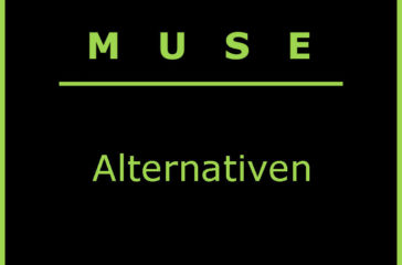 Muse Alternative - Textschild zum Blog-Beitrag